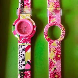 Lilly Pulitzer Interchangeable Watch Set